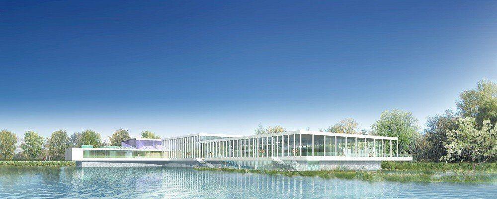 Cap terre assure la mission de conseil de certification HQE pour le centre aquatique de Mercin et Vaux