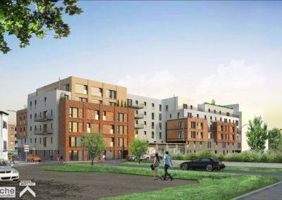 Conseil en certification NF Habitat HQE pour la construction de 92 logements à Nanterre (92)