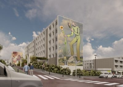 Rénovation énergétique de 1096 logements sociaux, quartier Jussieu à Versailles (78)