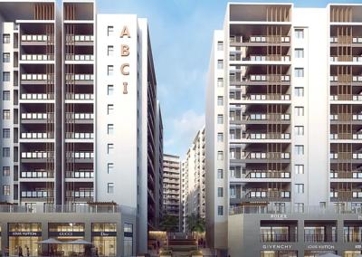Maîtrise d'œuvre HQE international pour le construction de la résidence Valmascort en Algérie