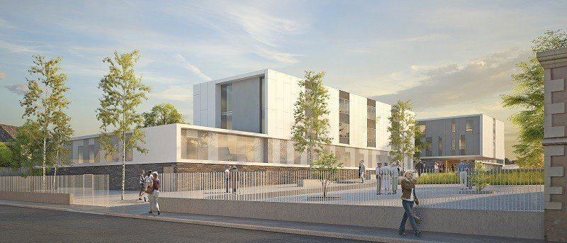 Cap Terre, MOE pour la reconstruction de l'hôpital de la Corniche Angevine
