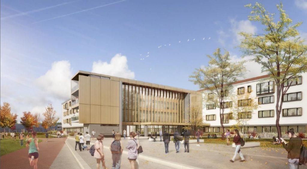 Cap Terre assure la rénovation énergétique du lycée de Niort