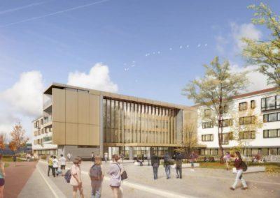 Rénovation énergétique du lycée Paul Guérin à Niort