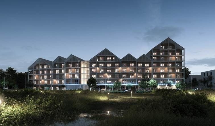Cap Terre, NF Habitat HQE pour 60 logements Terre Sud à Bègles (33)