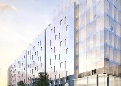 Rénovation du siège d'HSBC et obtention des certifications NF HQE Bâtiments Tertiaires et BREEAM