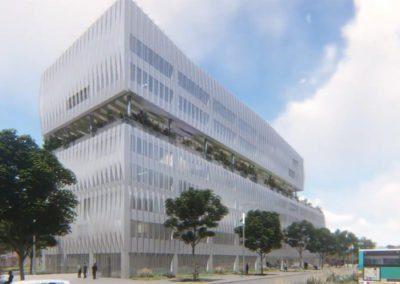 Reconstruction de l'îlot Eiffel à Créteil visant la certification HQE Bâtiment Durable