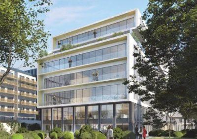 Assistance à maîtrise d'ouvrage HQE Tertiaire, BREEAM New construction pour la reconstruction de bureaux
