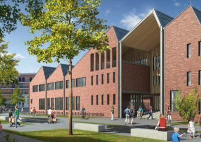 AMO en construction durable pour la construction d'un groupe scolaire aux Bassins à Flot à Bordeaux