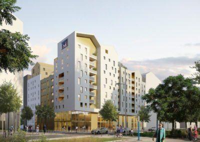 Conseil en énergie et construction durable pour la réalisation de 78 logements à Montpellier