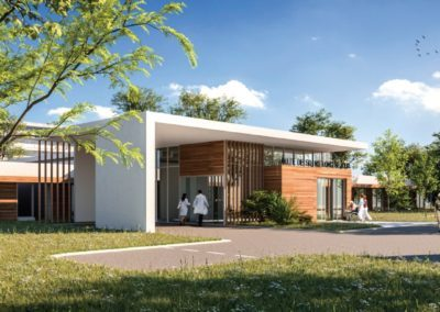 Conception bioclimatique – Restructuration de l'USLD de Centre Hospitalier de Pau