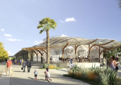 Démarche environnementale pour la reconversion de la Halle Sernam à Pau