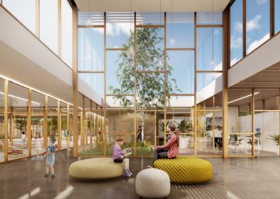Construction durable d'une école maternelle à Fronton (31)